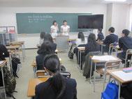 宮村さんと松井さんのトーク。