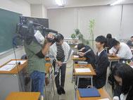 以前に人権講座の取材で生徒にインタビュー