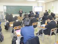 学長の授業風景。