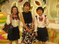 MC&リポーター越村江莉さん(中央)との記念写真。
