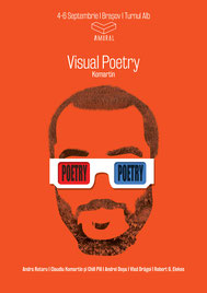 Poster of Claudiu Komartin, Visual Poetry, Amural