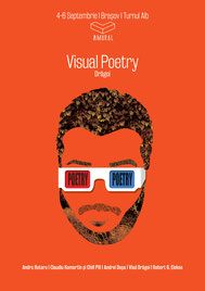 Poster of Vlad Dragoi, Visual Poetry, Amural