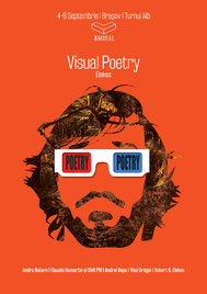 Poster of Robert Gabriel Elekes, Visual Poetry, Amural