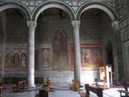 教会内部 フィレンツェ 2013年撮影