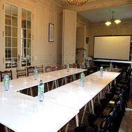 Salle pour formation et seminaire au Château Belle Epoque par E-cime