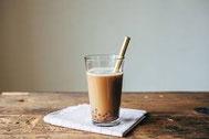 ミルクティー&ブラックパール