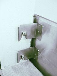 Hochwasserschutz Hakensystem