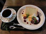 ●シフォンケーキセット