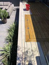 Terrassenboden Accoya - Terrassenreinigung Bern und Thun