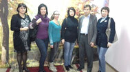 Учителя г.Азова с Иоффе А.П.