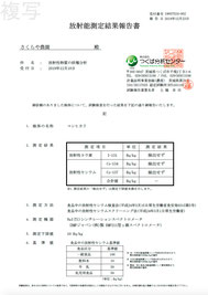 2019_放射能測定結果