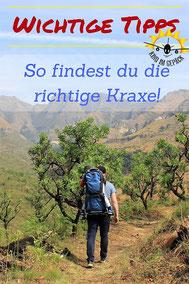 Wandertrage finden