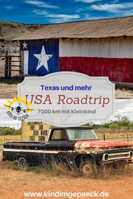 USA-Roadtrip mit Kind in Texas.