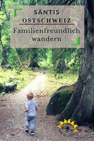 Familienfreundlich Wandern am Säntis.