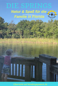 Die Florida Springs nahe Orlando.