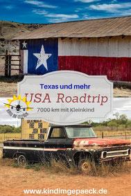 Roadtrip durch Texas und mehr.