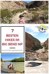 Wanderungen im Big Bend NP.