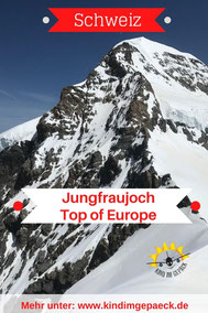 Jungfraujoch mit Kind