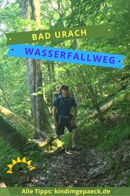 Wasserfallweg Bad Urach