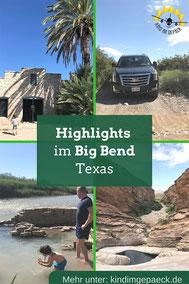 Tipps für den Big Bend NP in Texas.