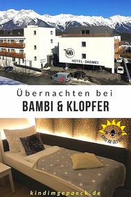 Hoteltipp bei Innsbruck: dasMEI in Mutters. Kein Familienhotel, aber dennoch sehr super und schön für Familien.