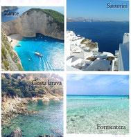 Grecia e Spagna a confronto