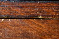 Schäden an gefasstem Holz