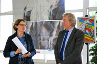 Vernissage au Centre de Formation le 20 octobre