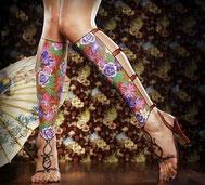 Художественная роспись на теле