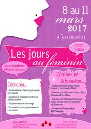 Lulu Coquelicot - Les jours au féminin pour la journée de la femme - 8 mars au 11 mars 2017