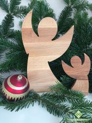 Holzdekoration Weihnachten
