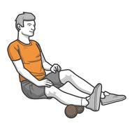 Faszienmassage mit der Twinball , Faszientraining, faszien Training
