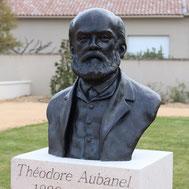 Buste-Bustes-Langloÿs-Bronze-Théodore-Aubanel