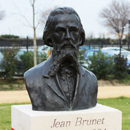 Buste-Bustes-Langloÿs-Bronze-Jean-Brunet
