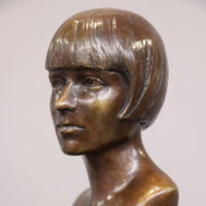 Buste-Bustes-Langloÿs-Bronze-Louise-Brooks