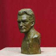 Buste-Bustes-Langloÿs-Bronze-Jean-Marais