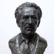 Buste-Bustes-Langloÿs-Bronze-Jean-Cocteau