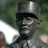 Buste-Bustes-Langloÿs-Bronze-De-Gaulle