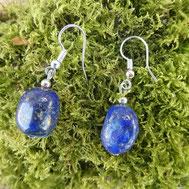 boucles d'oreilles lapis Lazuli site alain rivera