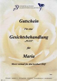 DS Kosmetik Fraubrunnen - Gutscheine