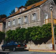 Modiano - Jouy en Josas - Rue du Docteur Kurzenne
