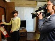 江川佳代 整理収納コンサルタント 2014.02.24 RCC中国放送「イマなま3チャンネル」自宅取材