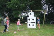 Fußball-Zielschießen