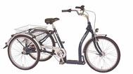 Pfau Tec Classic Dreirad und Elektro-Dreirad für Erwachsene - Shopping-Dreirad 2020