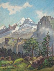 Nr.1718/RB681  Doldenhorn b. Kandersteg