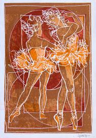 Nr.816 Ballett Tänzerinnen