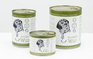 Reico Feuchtfutter für Hunde MaxidogVit® Wild Alleinfuttermittel - Für abwechslungsreiche Kost