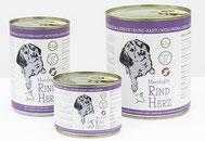 Reico Feuchtfutter Hunde - MaxidogVit® Rind Herz Alleinfuttermittel - Für aktive Hunde