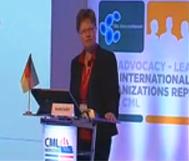 Susanne Saußele Allemagne germany DEUTSCHLAND leucemie lmc france cml horizons 2014 belgrade beograd serbia advocates network chonic myelloid leukemia
