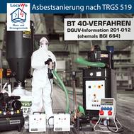 Asbestsanierung nach TRGS 519